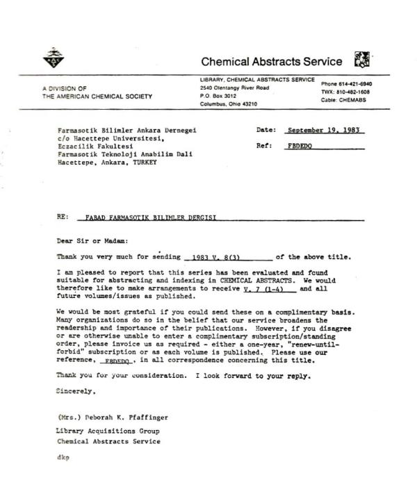 Chemical Abstracts Service